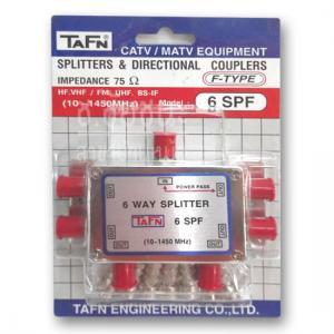 สปริตเตอร์แยกสัญญาณ RF 6 ทาง รุ่น TAFN 6SPF