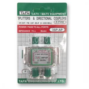 สปริตเตอร์ชนิด ALL PORTS POWER PASS 3 ทาง รุ่น TAFN 3SP-AP