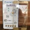 ฟิล์มกระจกเต็มจอ Oppo R9S Pro สีทอง
