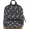JanSport กระเป๋าเป้ รุ่น Right Pouch - Navy Twiggy Dot Jacquard