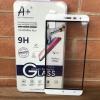 ฟิล์มกระจก Zenfone 3 5.5(ZE552KL) เต็มจอ สีขาว