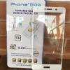 ฟิล์มกระจกเต็มจอ Huawei Y7 สีขาว