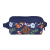 JanSport กระเป๋าเป้ T81B0E2 รุ่น Waisted - Multi Navy Mountain Meadow