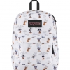 JanSport กระเป๋าเป้ รุ่น Superbreak - Disney Fab Shodows White