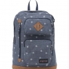 JanSport กระเป๋าเป้ รุ่น Houston - Turkish Ocean Hashtag Doodad