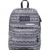 JanSport กระเป๋าเป้ JS00T50F0GT รุ่น Digibreak - Black,White Jazzy Geo