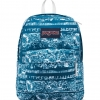 JanSport กระเป๋าเป้ รุ่น Superbreak - Midnight Sky Floral Stripe