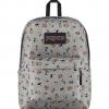 JanSport กระเป๋าเป้ รุ่น Superbreak - Disney Gang Dot Grey