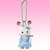 พวงกุญแจซิลวาเนียน เบบี้กระต่ายช็อคโกแล็ตกระโปรงสีฟ้า (JP) Sylvanian Families Chocolate Rabbit Baby