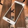 ฟิล์มกระจก Huawei Y6II เต็มจอ ขอบนิ่ม สีขาว