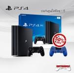 PS4 PRO 1TB + DualShock 4 50%Off (Dynamic 4K Gaming & 4K Entertainment)