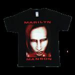 เสื้อยืดวง Marilyn Manson ผ้า Gildan xS-3XL [Gildan]