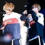 เสื้อฮู้ดแจ็คเก็ตเกาหลี BTS พิมพ์ลาย WARRIORS