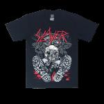 เสื้อยืด วง Slayer แขนสั้น สกรีนเฉพาะด้านหน้า สั่งได้ทุกขนาด S-XXL [NTS]