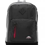 JanSport กระเป๋าเป้ รุ่น Axiom - Black Ripstop/Grey Marl