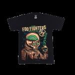 เสื้อยืด วง Foo Fighters แขนสั้น สกรีนเฉพาะด้านหน้า สั่งได้ทุกขนาด S-XXL [NTS]