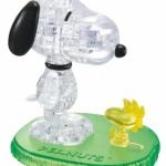 จิ๊กซอว์คริสตัล 3มิติ สนุปปี้กับวู้ดสต็อก Snoopy Woodstock 3D Crystal Jigsaw Puzzle