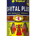 อาหารปลา TROPICAL D-Vital Plus (สูตรสำหรับปลาปอมปาดัวร์)
