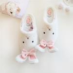 รองเท้าสวมในบ้าน เฉินเสี่ยวซี แต่งรูปสัตว์น่ารัก มี3แบบ