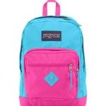 JanSport กระเป๋าเป้ รุ่น City Scout - BLUE/PINK