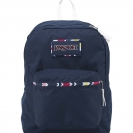 JanSport กระเป๋าเป้ รุ่น High Stakes - Navy Watercolor Chevron