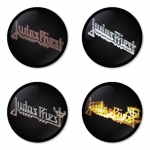 ของที่ระลึกวง Judas Priest เลือกด้านหลังได้ 4 แบบ เข็มกลัด, แม่เหล็ก, กระจกพกพา หรือ พวงกุญแจที่เปิดขวด 1 แพ็ค 4 ชิ้น [2]