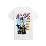 เสื้อยืดวง AC/DC ผ้า Gildan xS-3XL [Gildan]