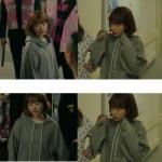 เสื้อฮู้ดแขนยาวสีเทาเกาหลี โดบงซุน แต่งเชือกผูก