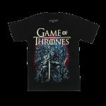 เสื้อยืด วง Game of Thrones แขนสั้น สกรีนเฉพาะด้านหน้า สั่งได้ทุกขนาด S-XXL [MARVEL]