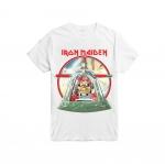 เสื้อยืดวง Iron Maiden ผ้า Gildan xS-3XL []