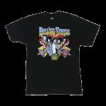 เสื้อยืด วง The Rolling Stones แขนสั้น งาน Vintage ลายไม่ชัด ทุกขนาด S-XXL [Easyriders]