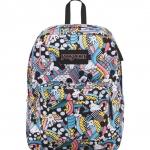 JanSport กระเป๋าเป้ รุ่น Superbreak - Disney Roller Coaster Mickey