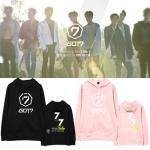 เสื้อฮู้ดแจ็คเก็ตเกาหลี GOT7 พิมพ์ลายหน้าหลัง มี5สี