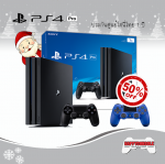 PS4 PRO 1TB DualShock 4 50%Off (Dynamic 4K Gaming & 4K Entertainment)
