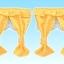 [หมดแล้ว] ชุดผ้าม่านบ้านซิลวาเนียนลายจุด (JP) Sylvanian Family Curtain V3% thumbnail 1