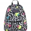JanSport กระเป๋าเป้ TDH60EK รุ่น Half Pint - Black/White Bebop thumbnail 1