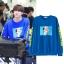 เสื้อแขนยาวเกาหลี GOT7 แต่งลายแขนเสื้อ ดีไซน์รูป มี5สี