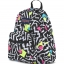 JanSport กระเป๋าเป้ TDH60EK รุ่น Half Pint - Black/White Bebop thumbnail 3