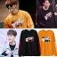 เสื้อแขนยาวแฟชั่นเกาหลี GOT7 พิมพ์ลายด้านหน้า มี4สี