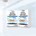 อาหารเสริมลดน้ำหนัก Kito Detox 10 เม็ด * 2 กล่อง