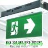 กล่องไฟทางหนีไฟ กล่องไฟทางออก สลิมไลน์ EXB303TRE,EXB303TCE Slimline LED Series (Exit Sign Lighting Max Bright C.E.E.)