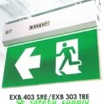กล่องไฟทางหนีไฟ กล่องไฟทางออก สลิมไลน์ EXB403SCE,EXB403TCE Slimline LED Series (Exit Sign Lighting Max Bright C.E.E.)
