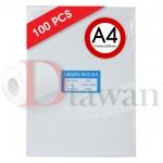 พลาสติกเคลือบบัตร เคลือบรูป ขนาด A4+ (220mm x 306mm) คุณภาพสูง กาวเหนียว ไม่เป็นฟองอากาศ