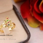 แหวนเต่านพเก้า (หุ้มทองคำแท้)