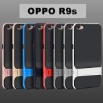 เคส OPPO R9s แบบ TPU + PC มีขาตั้ง