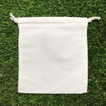 ถุงผ้าดิบเปล่า5*6นิ้ว แพค10ใบ