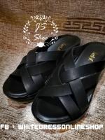 รองเท้าหนังนิ่ม เส้นสลับสบายเท้าคะ ไม่แข็งไม่ตึง มีความยืดหยุ่นดีเลย ใส่แล้วสบายเท้า พื้นนิ่มคะเหยียบไปคือนิ่มสบายเท้า