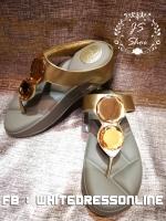 รองเท้าสุขภาพ เพชร2เม็ด สีทอง พื้นโซฟ้า บุที่คาดนุ่มๆ ใส่ลงไปสบายเท้าจ้า พื้นซับพอร์ตให้ไม่เจ็บเท้านะคะ เพชรสวยมากก รับประกันจ้า