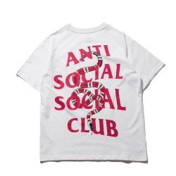 เสื้อ Anti Social Social Club x Gucci Snake T-Shirt