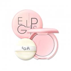 Eglips Glow Powder Pact (ตลับสีชมพู) : เพิ่มความเงาบนผิวหน้า แบบสาวๆเกาหลี